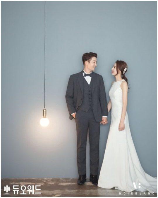 배우 김진우 웨딩화보. /사진제공=듀오웨드