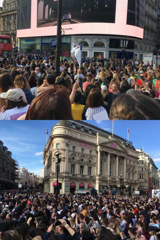[TEN 현장] 런던 피카딜리 광장에 펼쳐진 BTS 축제