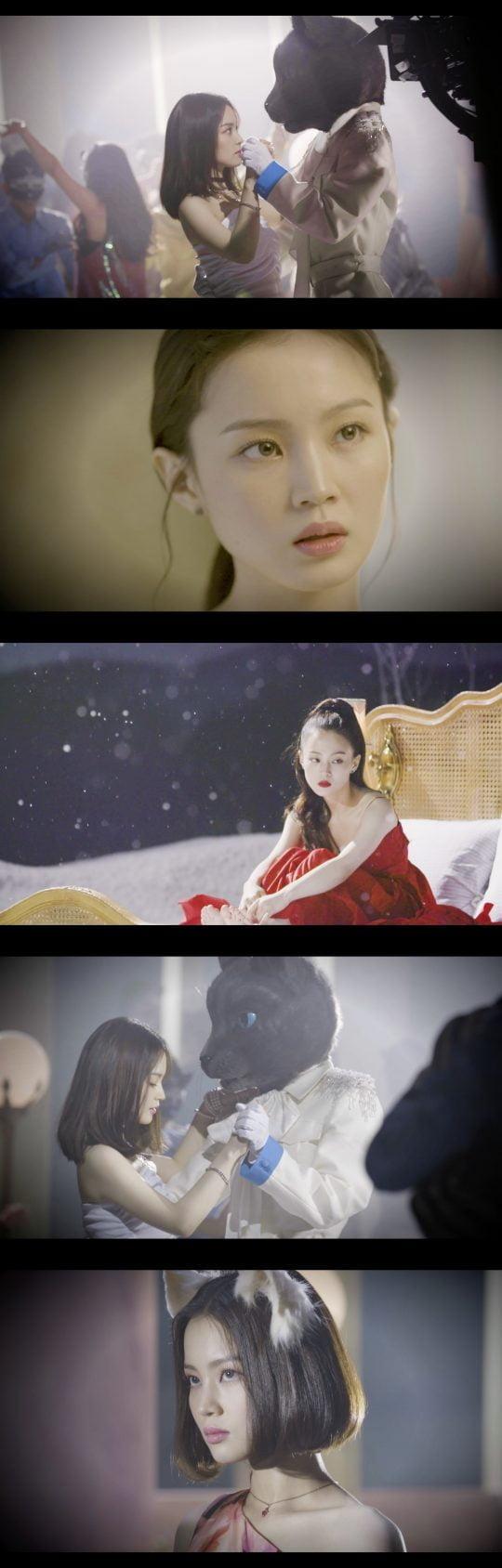 가수 이하이의 '누구 없소' 뮤직비디오 메이킹 / 사진제공=YG엔터테인먼트