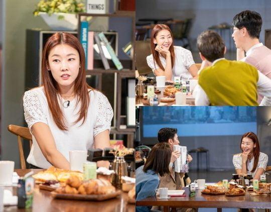 '대화의 희열2' 한혜진 / 사진제공=KBS2