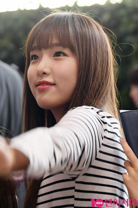 그룹 아이즈원 최예나