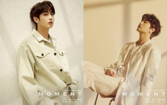 가수 허영생의 'MOMENT' 콘셉트 사진/제공=KQ엔터테인먼트
