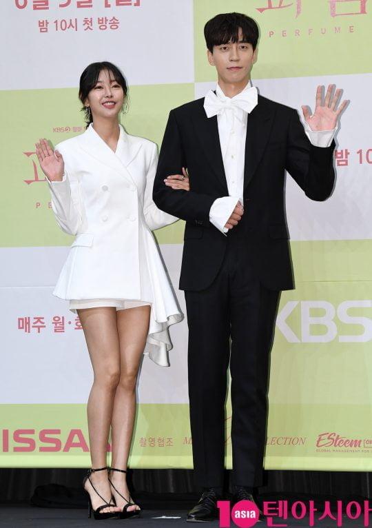 [TEN PHOTO]고원희-신성록 '세대를 뛰어넘은 커플'