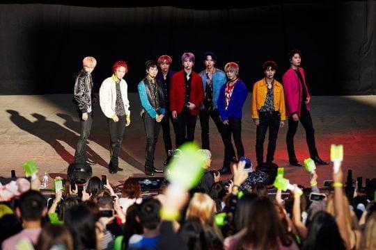 그룹 NCT 127 미국 대형 뮤직 콘서트 공연 이미지 / 사진제공=SM엔터테인먼트