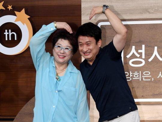 MBC 라디오 '여성시대 양희은, 서경석입니다'의 DJ를 맡은 양희은(왼쪽), 서경석./조준원 기자 wizard333@