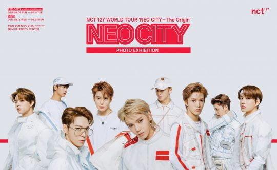 그룹 NCT 127 사진전 포스터./사진제공=SM엔터테인먼트