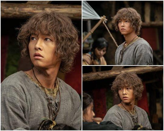 '아스달 연대기'의 송중기./사진제공=tvN