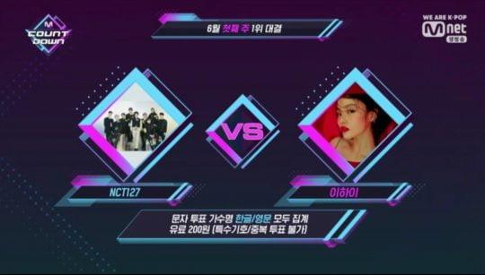사진=Mnet '엠카운트다운' 방송 화면 캡처