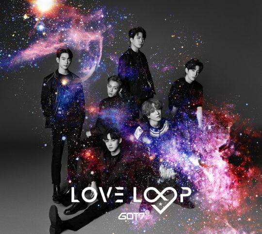 그룹 GOT7(갓세븐)의 'LOVE LOOP' 재킷 이미지 / 사진제공=JYP엔터테인먼트