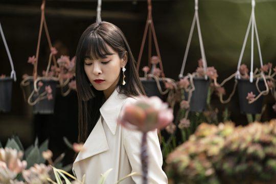 """배우 설인아는 """"득톡한 헤어스타일을 하고 싶어 히메컷을 제안했다""""고 밝혔다./사진제공=위엔터테인먼트"""