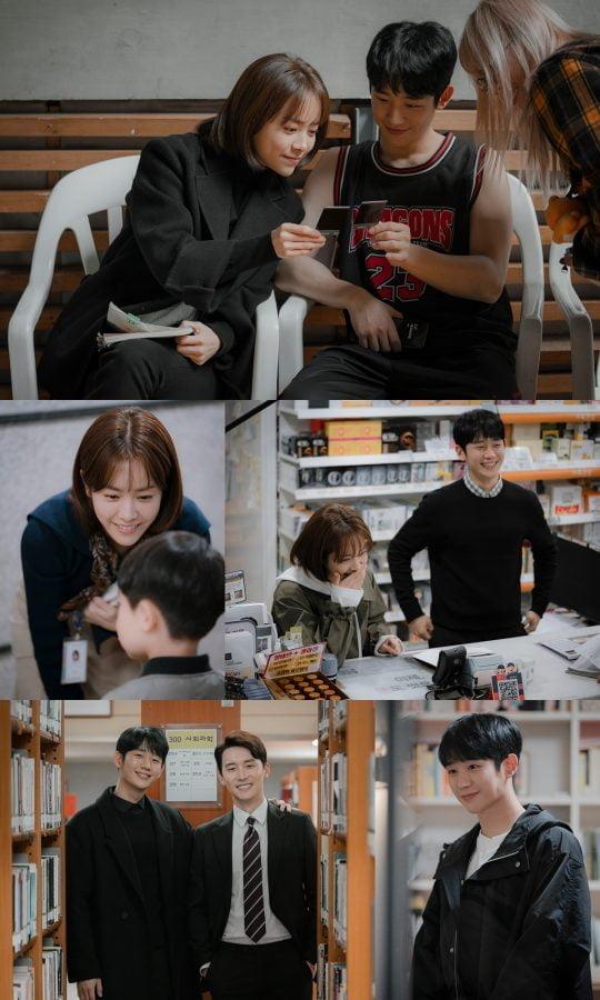MBC '봄밤' 비하인드 컷/사진제공=제이에스픽쳐스