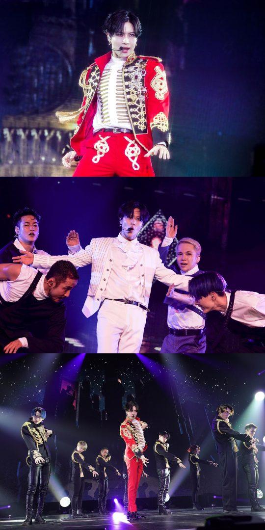 그룹 샤이니 태민의 일본 첫 아레나 투어 홋카이도 공연 이미지. /사진제공=SM엔터테인먼트