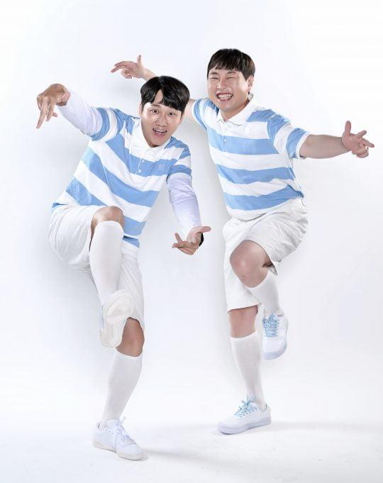 '찰떡콤비'의 개그맨 이용진(왼쪽)과 이진호 ./사진제공=JTBC