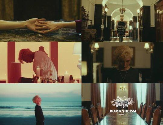 그룹 빅스 레오의 신곡 '로맨티시즘' 뮤직비디오 티저 영상 / 사진제공=젤리피쉬