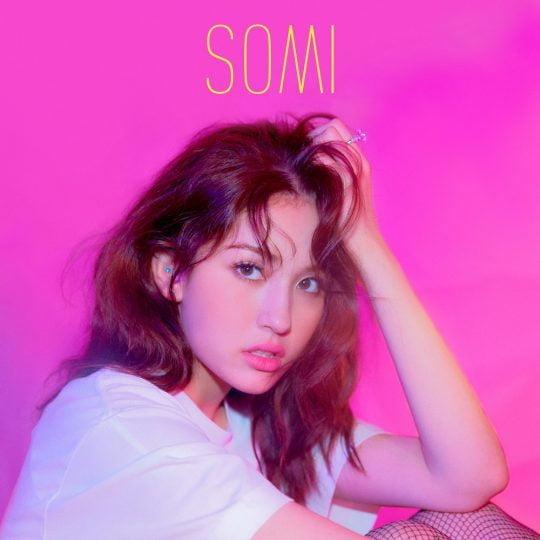 가수 전소미의 데뷔 싱글 '벌스데이' 재킷 이미지 / 사진제공=더블랙레이블