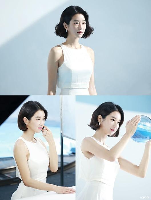 서예지, 광고 촬영 현장서 순백 미모 자랑 '청량감 물씬'
