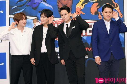 케이윌(왼쪽부터), 강타, 장성규, 김구라