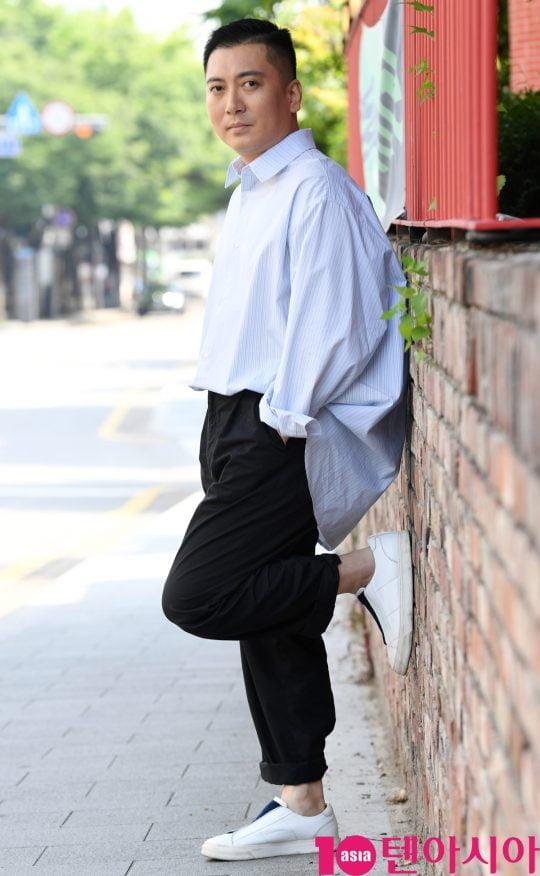 """배우 박명훈이 """"'기생충' 시나리오를 택배로 받았을 때의 기분은 영원히 못 잊을 것""""이라고 말했다./ 사진=조준원 기자 wizard333@"""