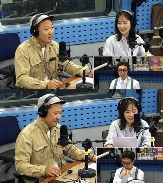 '김영철의 파워FM' 박지윤-정형석./ 사진=보이는 라디오