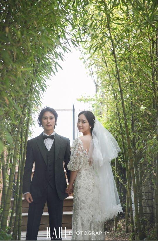 배우 정태우의 가족 사진. / 제공=라리스튜디오