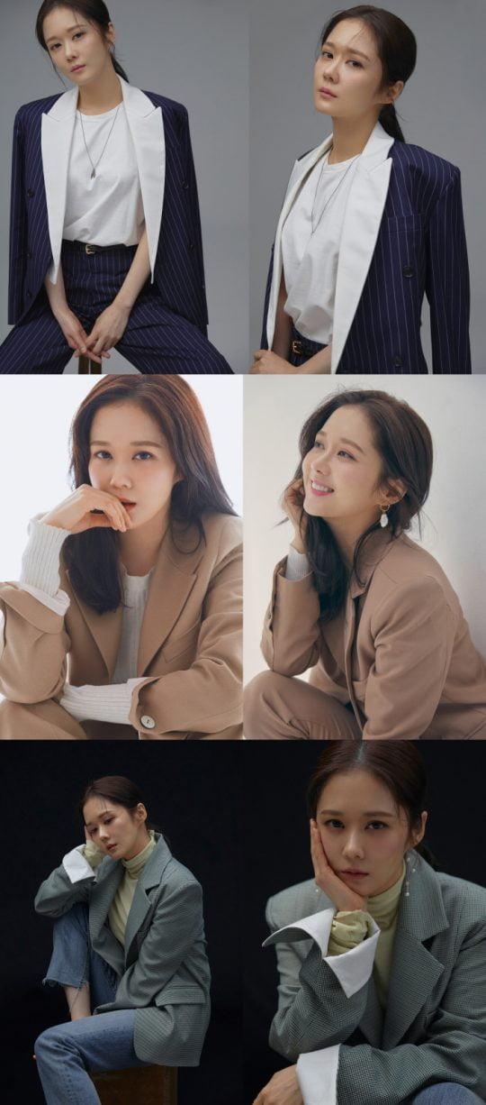 배우 장나라의 프로필 화보 / 사진제공=라원문화
