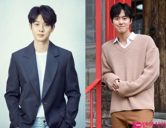 배우 최우식(왼쪽부터), 공명. /사진=CJ언터테인먼트, 텐아시아DB