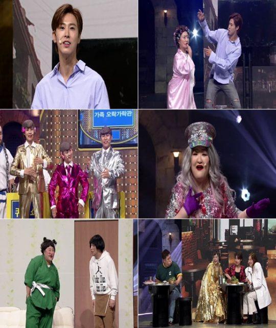 '코미디빅리그' 에 출연한 그룹 동방신기의 유노윤호 / 사진제공=tvN