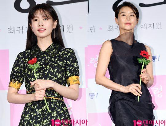 배우 정소민(왼쪽부터), 예지원. /텐아시아DB