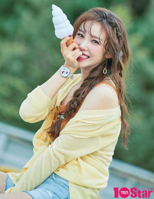 """전효성은 MBC '복면가왕' 출연으로 """"용기와 위로를 얻었다""""고 했다./사진=장한 작가"""