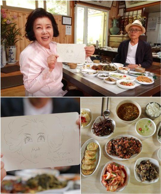 '백반기행' 김영란(첫 번째 사진 왼쪽부터), 허영만. /사진제공=TV조선