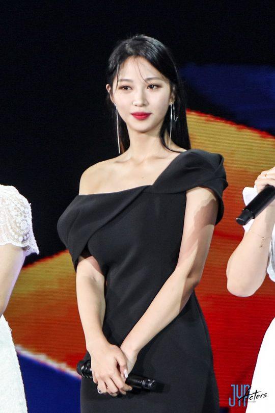 부천국제판타스틱영화제에 참석한 배우 류원. /사진제공=JYP엔터테인먼트