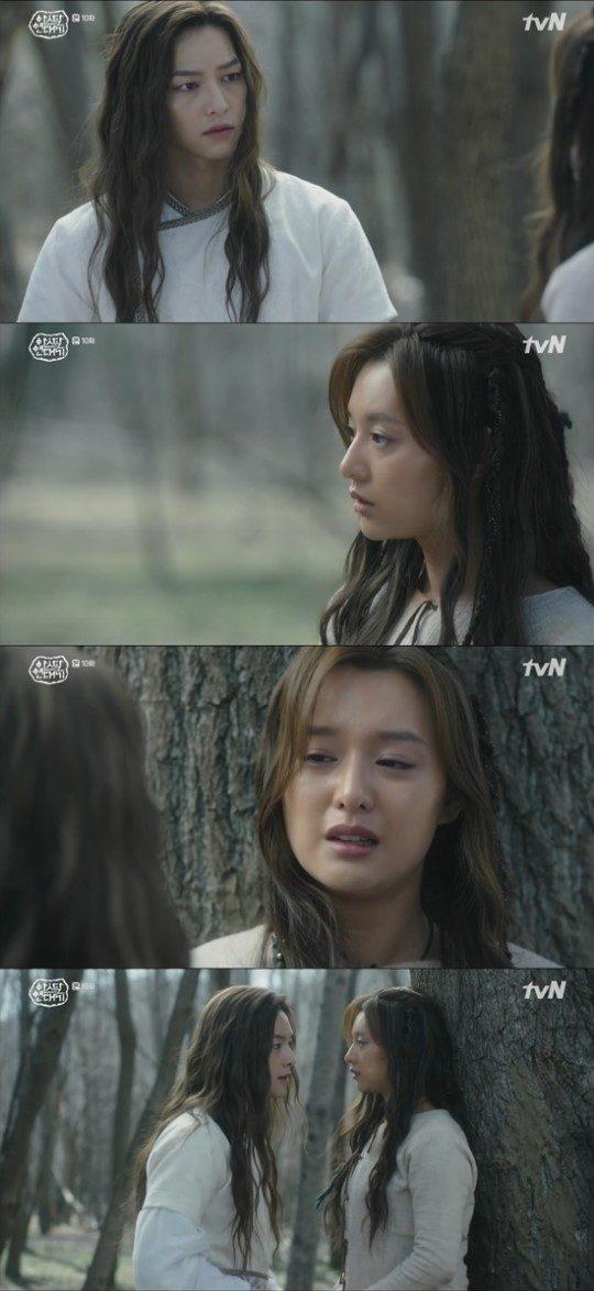 사진=tvN '아스달 연대기' 캡처.