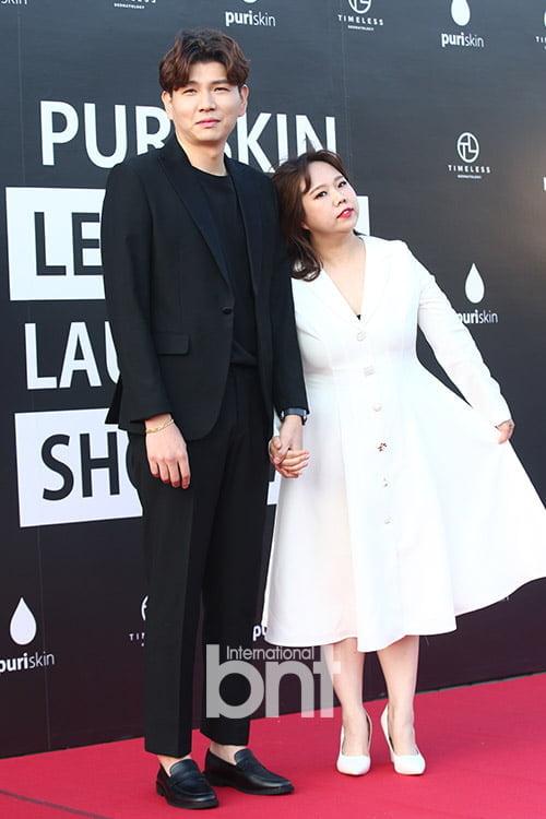 [bnt포토] 제이쓴-홍현희 '손 꼭 잡고~'