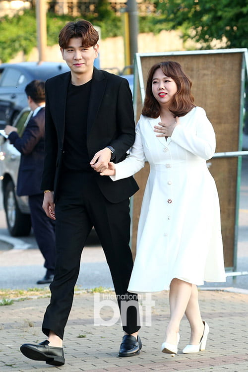 [bnt포토] 제이쓴-홍현희 '신혼부부의 다정한 입장~'