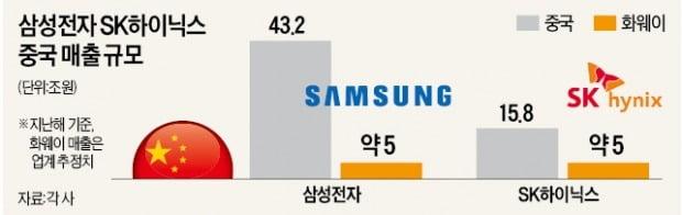 삼성·SK '10조 매출' 날아갈 판인데…'美·中 협박' 불구경하는 정부