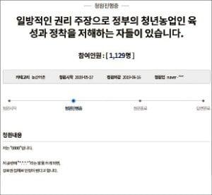'청년농부' 아무나 못쓴다?…상표권 논란