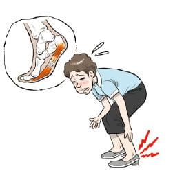 [생활속의 건강이야기] 발바닥이 아파 걸을 수 없다면