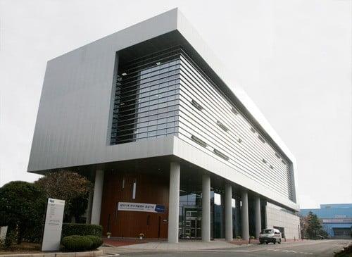 두산공작기계 R&D센터 건물전경