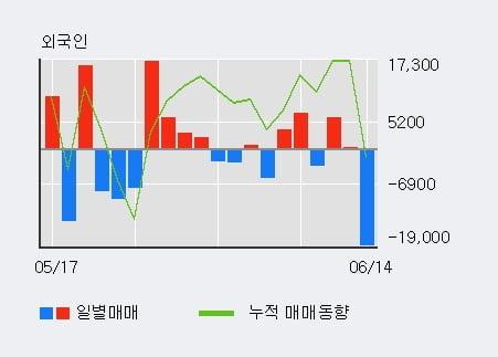 '서흥' 52주 신고가 경신, 전일 기관 대량 순매수