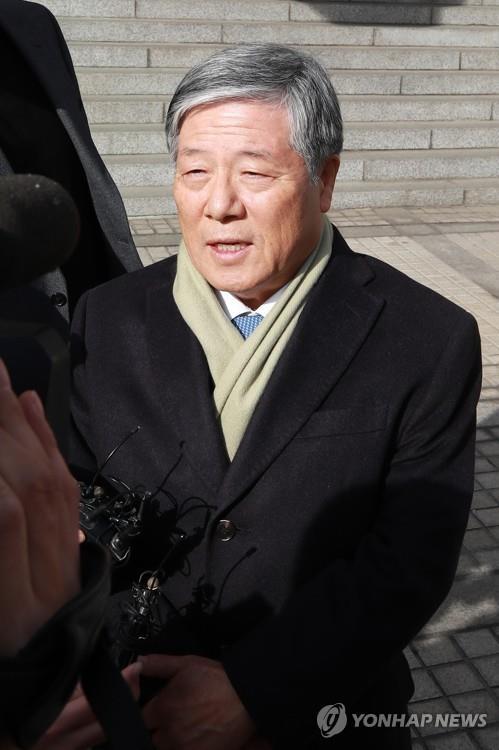 """'특활비 1심 무죄' 김성호 """"편견에서 시작…공정한판단 해달라"""""""