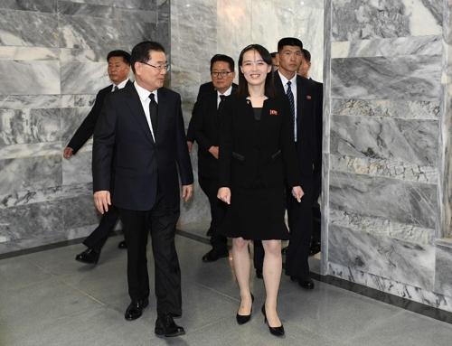 잠행 끝낸 김여정, 이번에도 김정은의 대남 메신저 역할