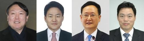 검찰총장 후보 4명…김오수·봉욱·윤석열·이금로