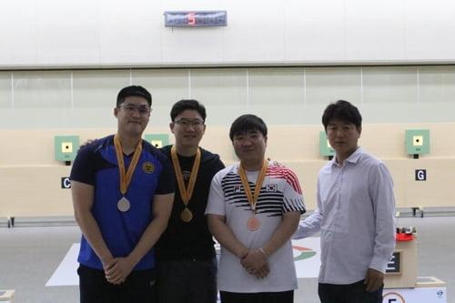 '사격 황제' 진종오, 한화회장배 10m 공기권총 금메달