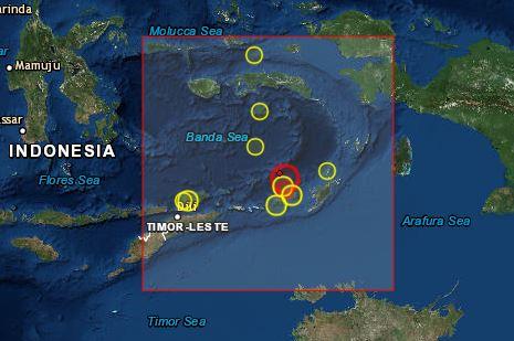 인도네시아 동부 타님바르제도 규모 7.3 지진…쓰나미 경보 없어