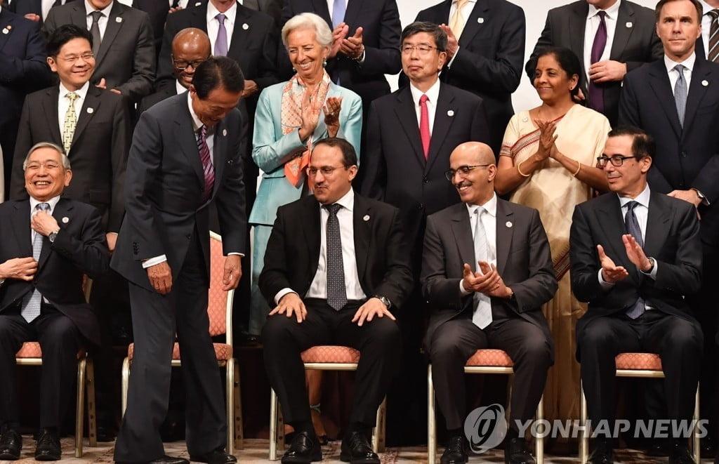 """G20 재무장관들 """"무역전쟁 때문에 글로벌 경제위기 온다"""""""