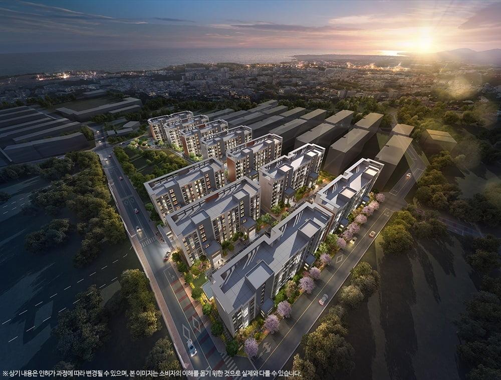 제주 프리미엄 브랜드 아파트 `e편한세상 중문`, 금일 주택전시관 그랜드 오픈
