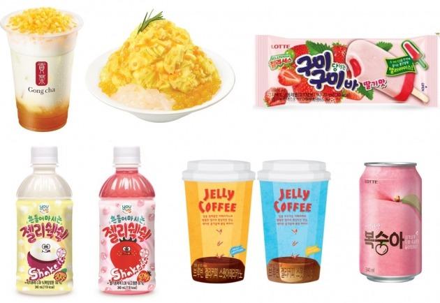 식음료업계, '쫀득쫀득 츄잉푸드'로 여름 성수기 노린다