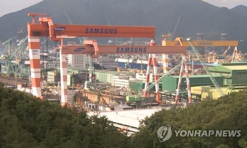 삼성重서 발생 안전사고 책임…경찰, 협력업체 관계자 5명 입건