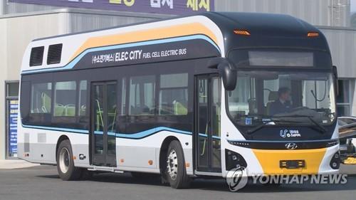 전국 수소버스 연내 35대 도입…2022년까지 수소충전소 310개