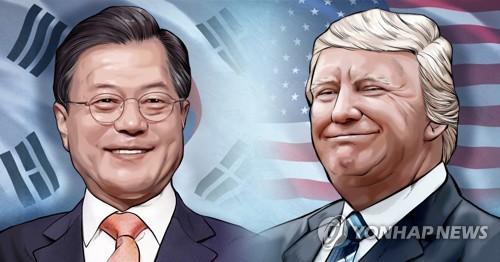 """美, 트럼프 방한중 """"김정은 만날 계획 없다""""…DMZ 방문은 열어놔(종합2보)"""